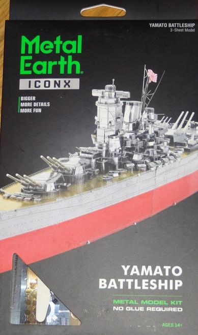 Yamato Battleship ICONX 3D Metal Model Kit