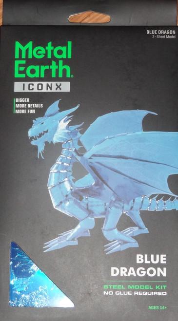 Blue Dragon ICONX 3D Metal Model Kit