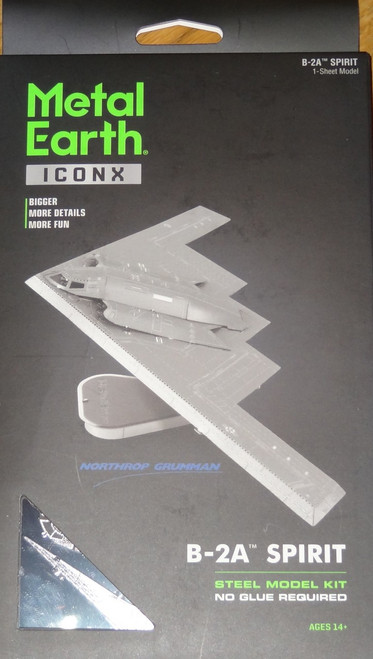 B-2A Spirit ICONX 3D Metal Model Kit