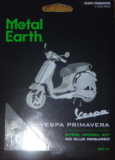 Vespa Primavera 150 Metal Earth