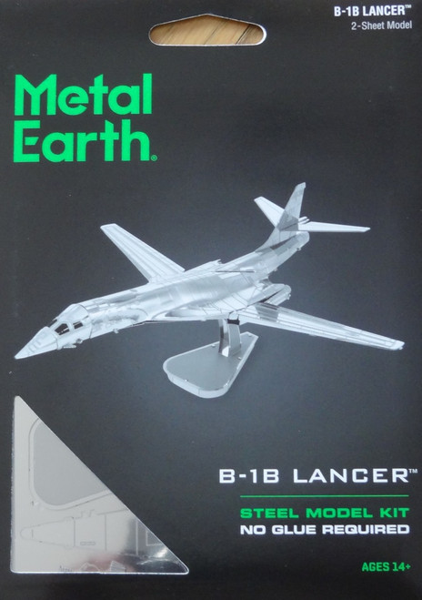 B-1B Lancer Airplane Metal Earth