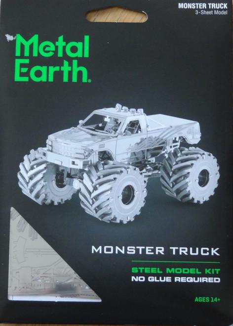 Monster Truck Metal Earth