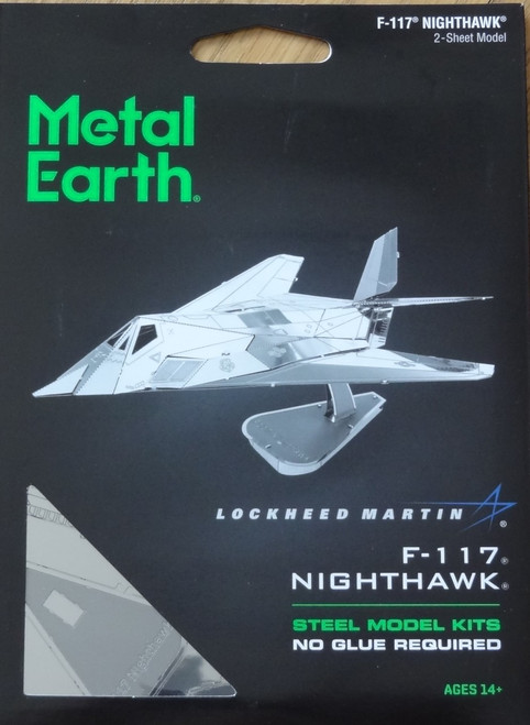 F-117 Nighthawk Airplane Metal Earth