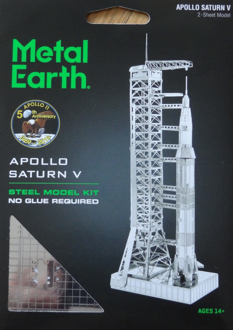 Apollo Saturn V Metal Earth