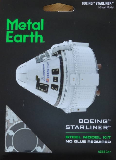 Boeing Starliner CST-100 Metal Earth