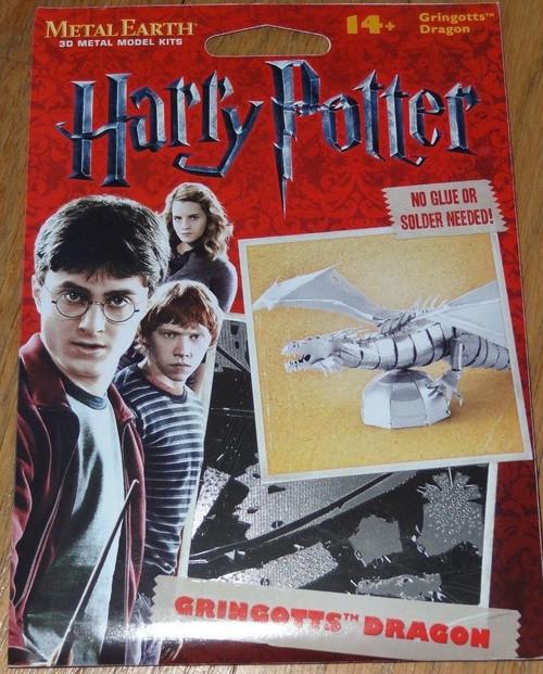Gringott's Dragon Harry Potter Metal Earth