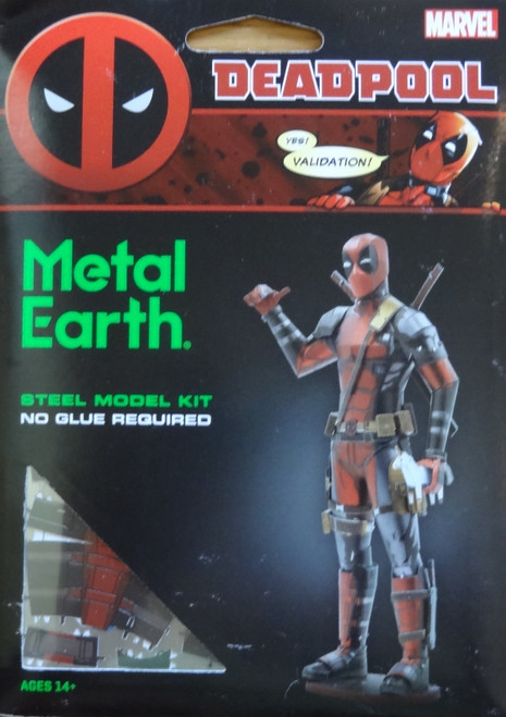 Deadpool Marvel Metal Earth