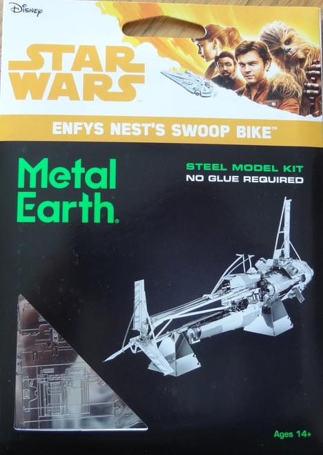 Enfys Nest's Swoop Bike Star Wars Metal Earth
