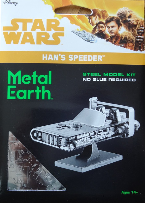Han's Speeder Star Wars Metal Earth