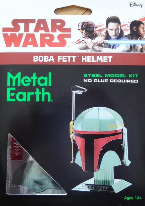 Boba Fett Helmet Star Wars Metal Earth