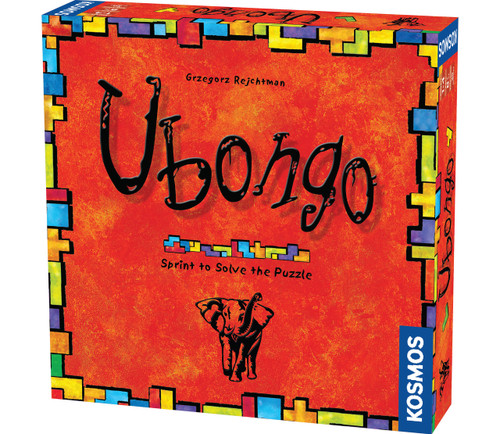 Ubongo Geometric Puzzle Game