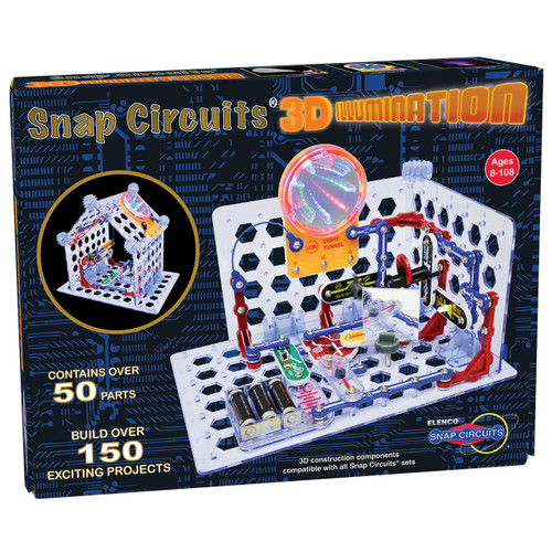 3D Illumination Snap Circuits