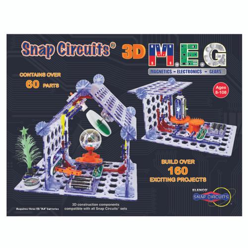 3D M.E.G. Snap Circuits