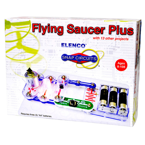 Snap Circuits Flying Saucer Plus