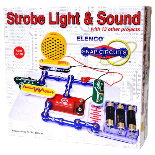 Snap Circuits Strobe Light & Sound Kit
