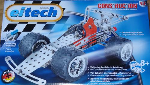 Quad Racing Car Construction Set Eitech