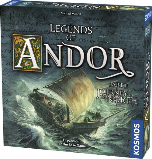Legends of Andor Journey To The North Expansion Game