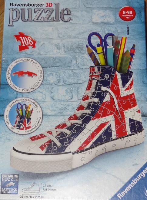 Sneaker: Union Jack 3D Puzzle