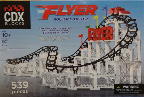 Flyer Roller Coaster CDX Blocks