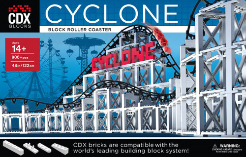 Cyclone Roller Coaster CDX Blocks