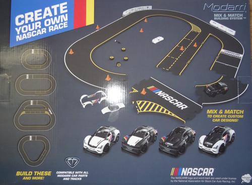 NASCAR Track With Car Modarri
