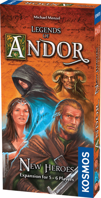 Legends of Andor New Heroes Expansion Game