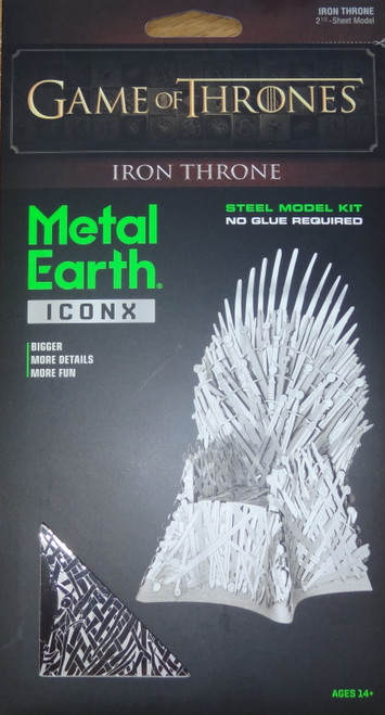 Iron Throne Game of Thrones ICONX 3D Metal Model Kit