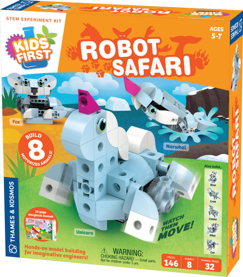 Kids First Robot Safari STEM Experiment Kit