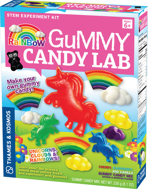 Rainbow Gummy Candy Lab Science Project Kit