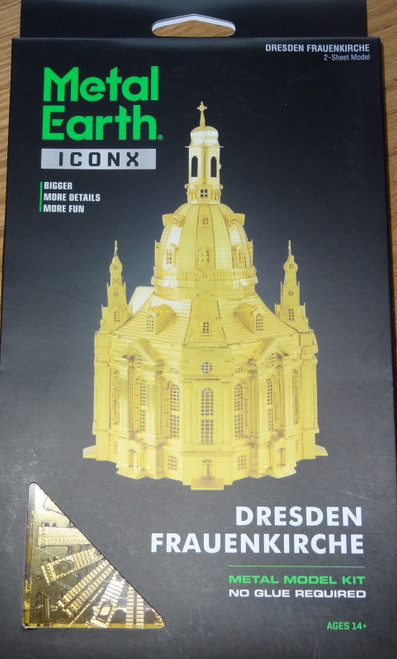 Dresden Frauenkirche ICONX 3D Metal Model Kit