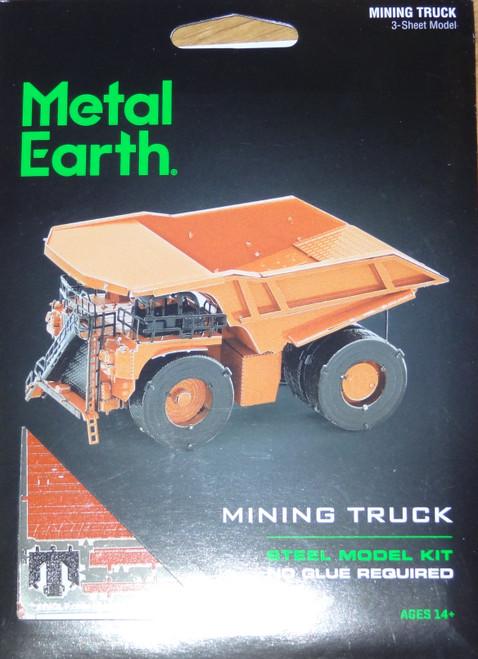 Mining Truck Metal Earth