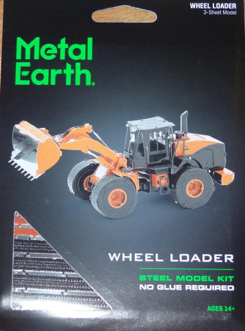 Wheel Loader Metal Earth