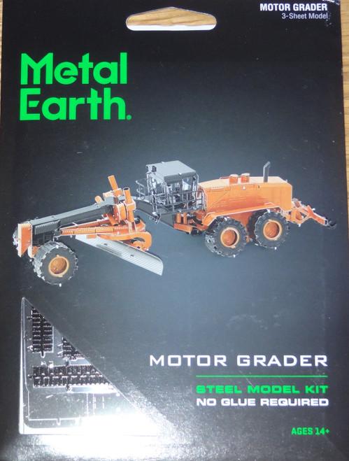 Motor Grader Metal Earth