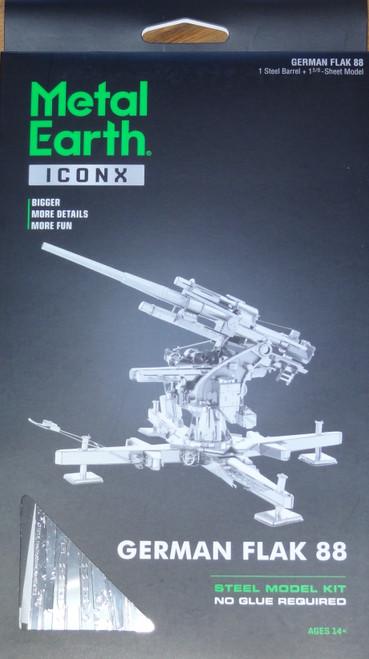 German Flak 88 ICONX 3D Metal Model Kit
