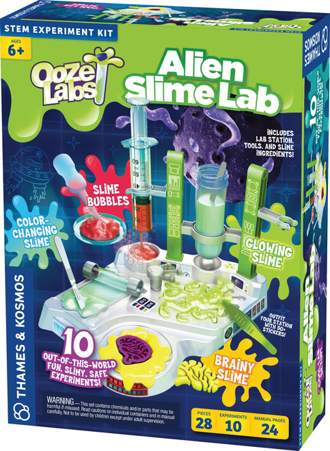 Ooze Labs Alien Slime Lab Station