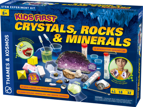 Kids First Crystals Rocks & Minerals Experiment Kit