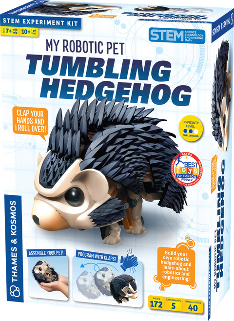 My Robotic Pet Tumbling Hedgehog Experiment Kit