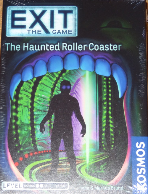 The Haunted Roller Coaster Exit the Game