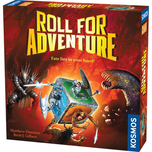 Roll For Adventure Board Game
