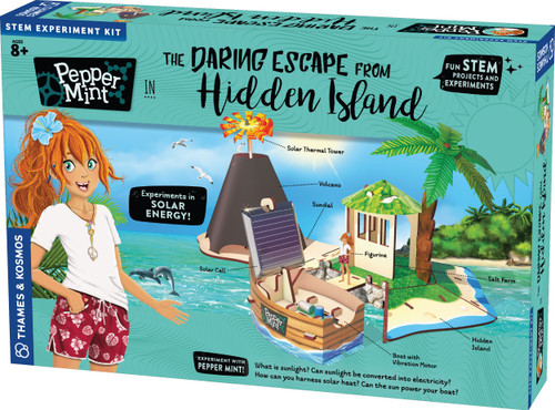 Pepper Mint The Daring Escape from Hidden Island