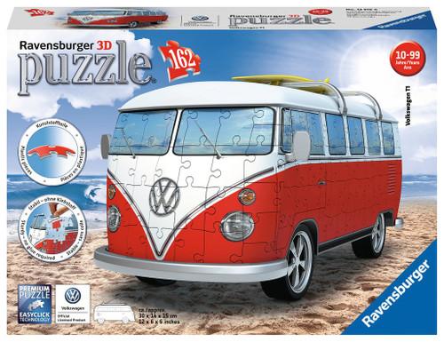 Volkswagen T1 Bus camper van 3D Puzzle