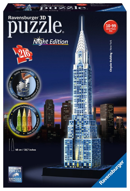 Chrysler Building 3D Puzzle Night Edition
