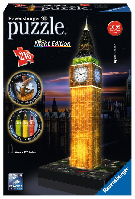 Big Ben 3D Puzzle Night Edition