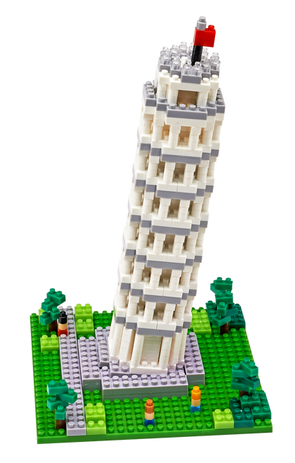 Leaning Tower of Pisa TICO Mini Building Bricks