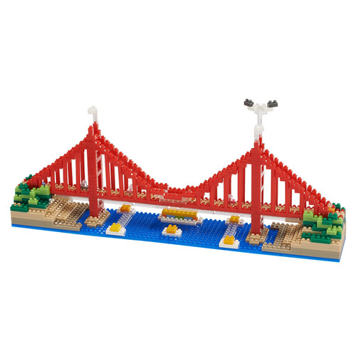 Golden Gate Brudge TICO Mini Building Bricks