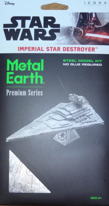 Imperial Star Destroyer Star Wars ICONX 3D Metal Model Kit
