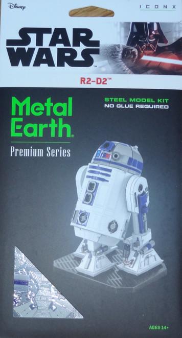R2-D2 Star Wars ICONX 3D Metal Model Kit