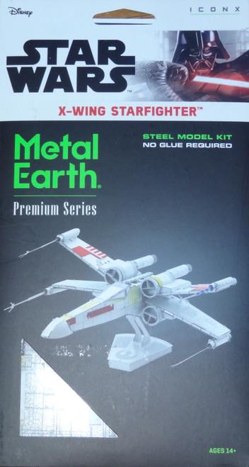 X Wing Starfighter Star Wars ICONX 3D Metal Model Kit