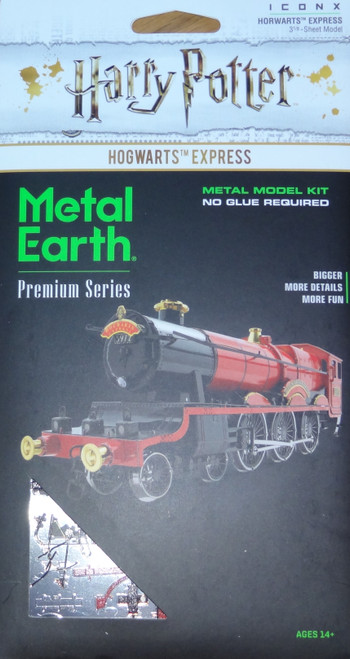 Hogwarts Express Train Harry Potter Metal Earth ICONX