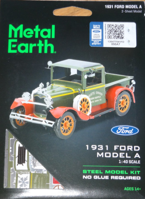 Ford 1931 Model A Metal Earth